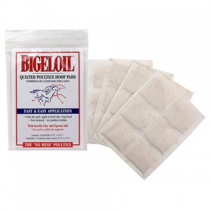 Absorbine Bigeloil Quilted Poultice Hoof Pad